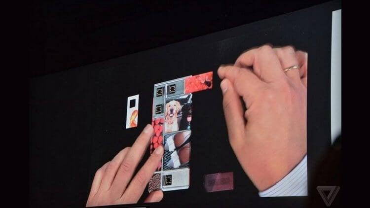 На Google I/O 2015 показана сборка смартфона Project Ara