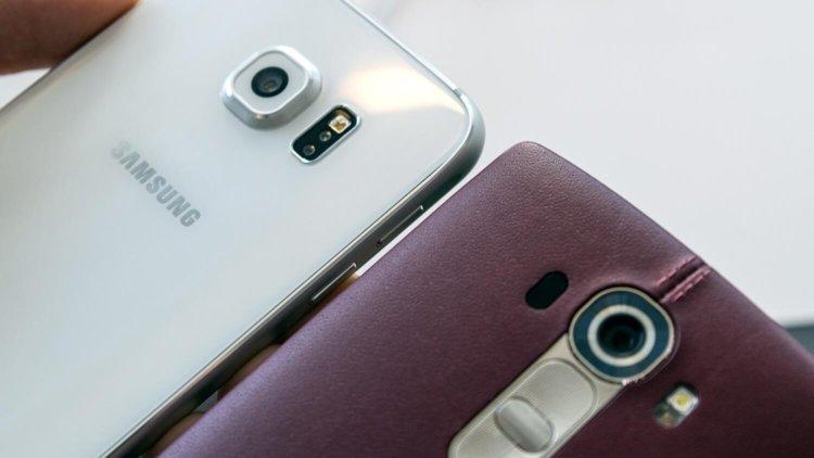 SGS 6 vs LG G4