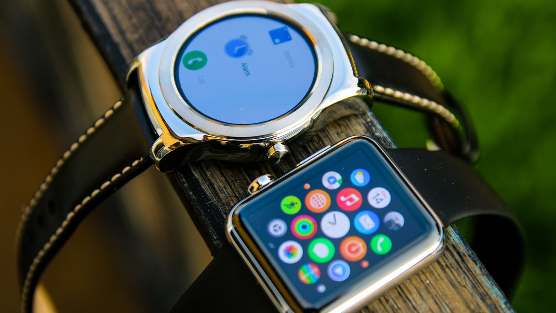 Синхронизировать телефон андроид с apple watch невозможно.
