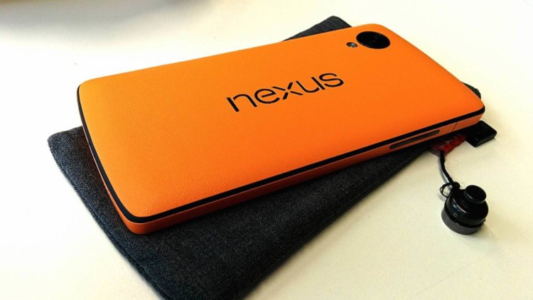 Nexus 5 Orange