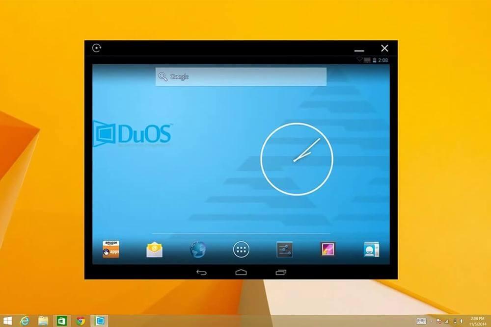 AMIDuOS превратит ваш Windows в Android