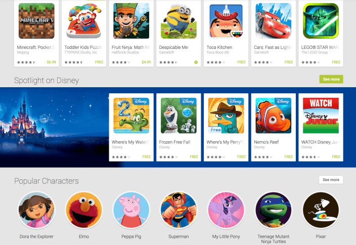 family android apps on google play