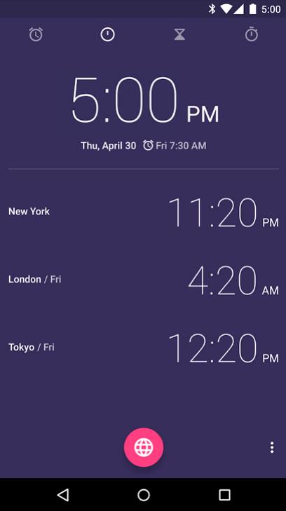 google-clock1