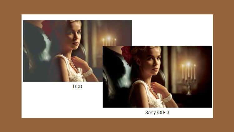 LED LCD и OLED от Sony. Разница в контрасте