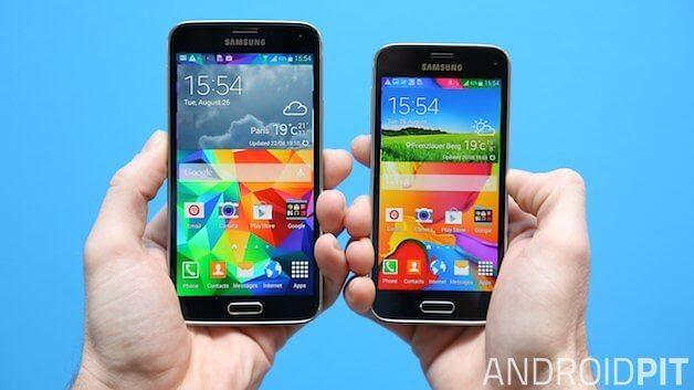 AndroidPIT-samsung-s5-vs-s5-mini-w628