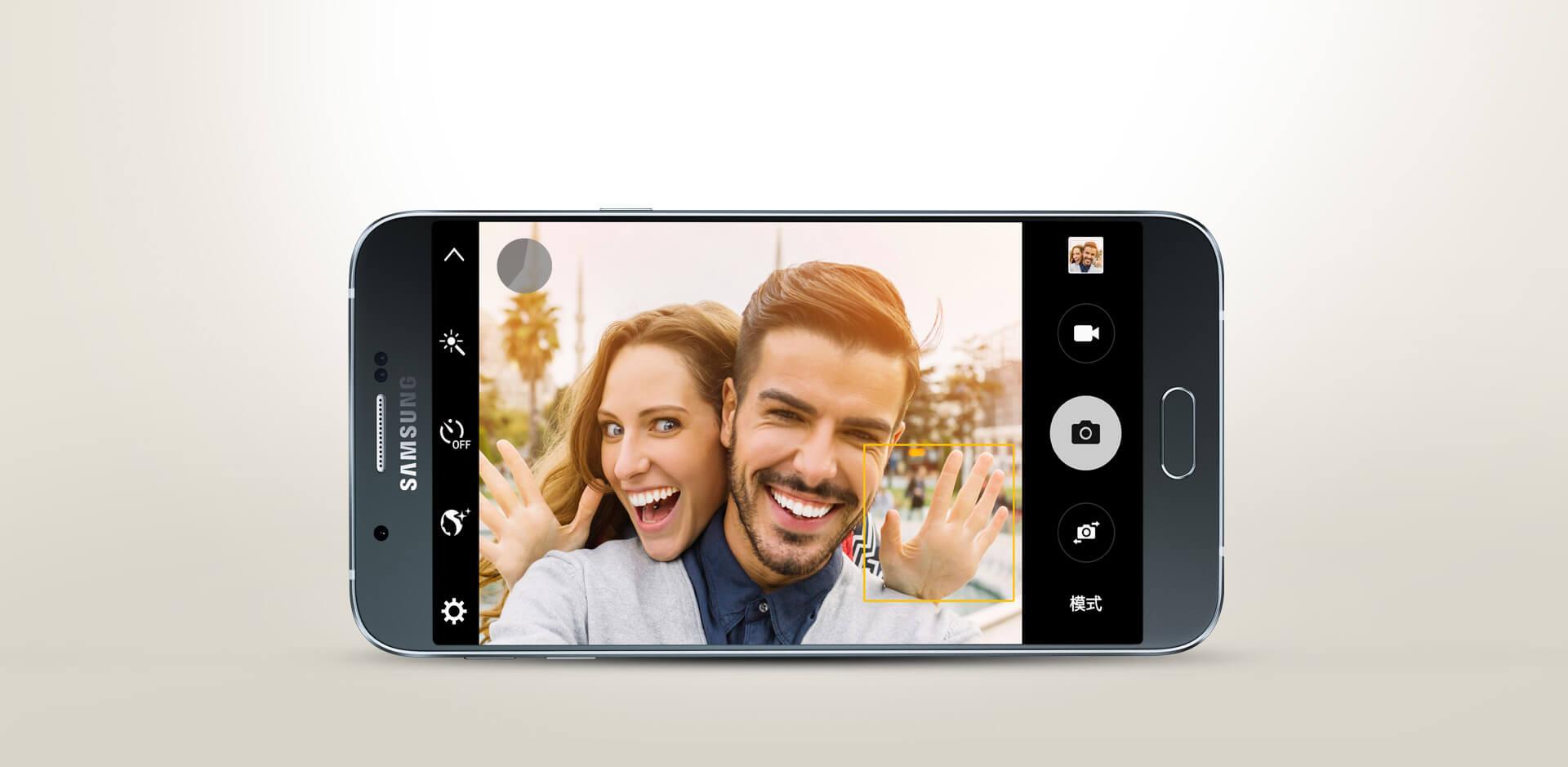 Samsung официально представила свой самый тонкий смартфон — Galaxy A8