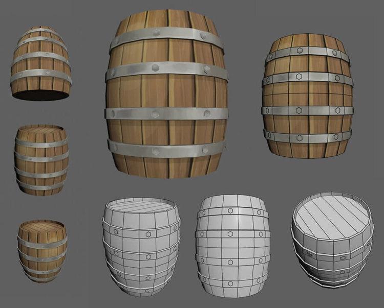 barrel_texturing_by_kokiri_kun-d5i3rdv