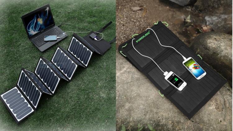 Солнечное зарядное устройство