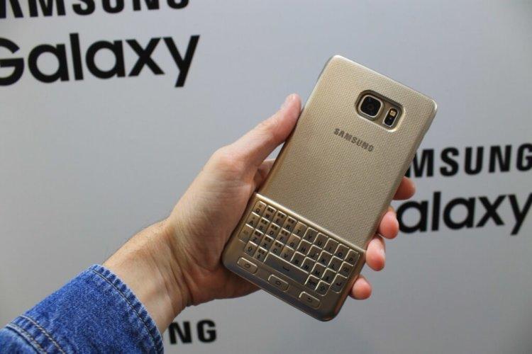Физическая клавиатура смартфонов Samsung