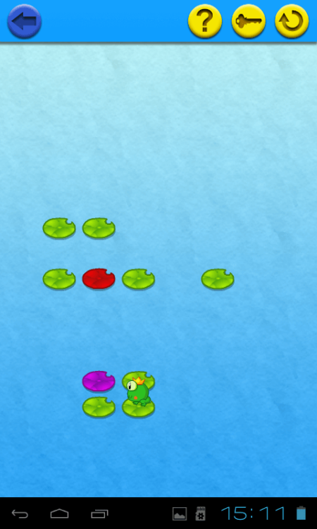 Logic puzzles - frog