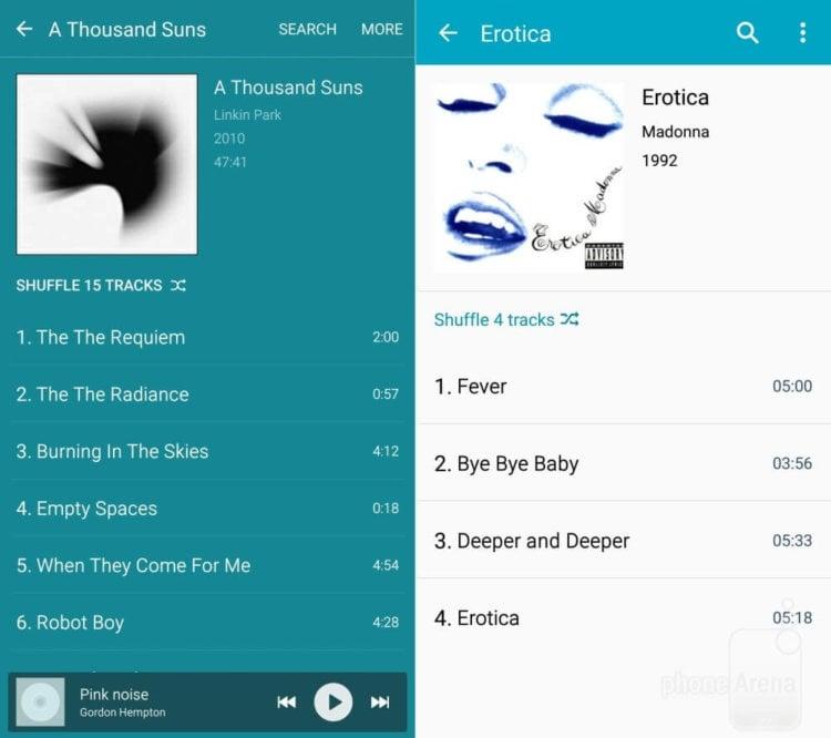 Music-player-Album-view