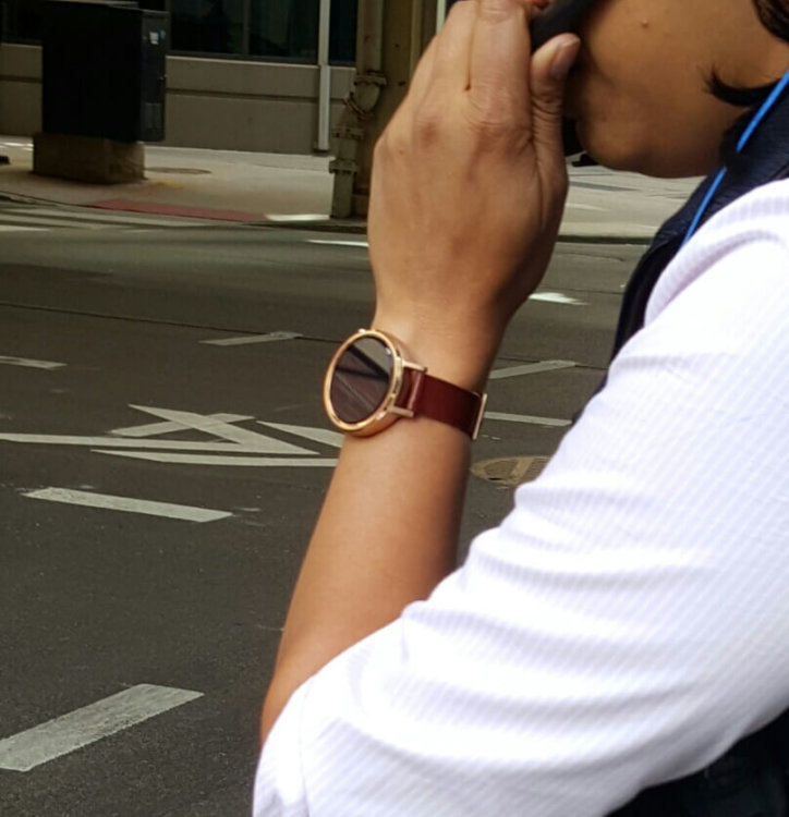 moto 360 second gen in the wild