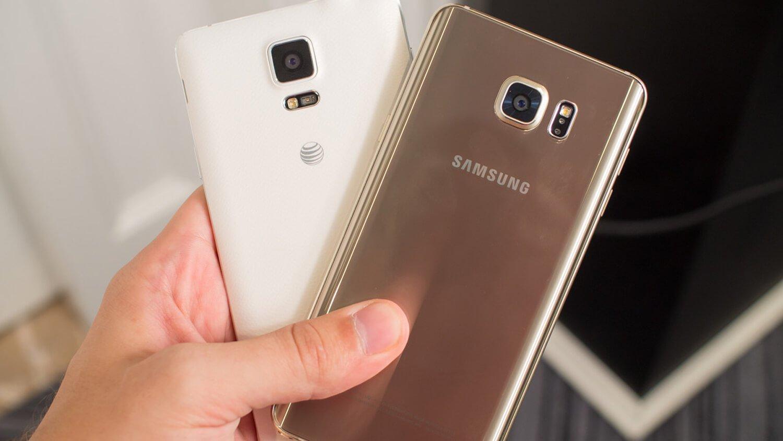 Samsung Galaxy Note 5 и S6 Edge+ работают дольше Galaxy Note 4 при меньшей емкости аккумулятора