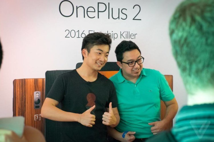 oneplus2 in ny carl pei