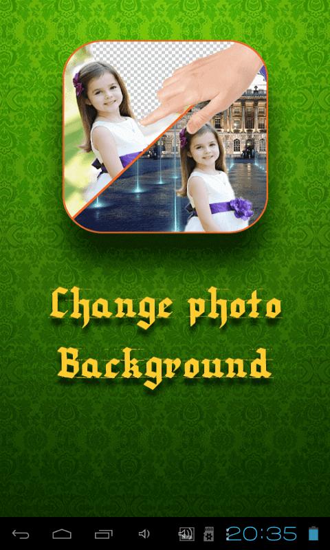 Простой способ сменить фон фото или любого изображения