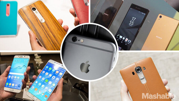 iPhone 6s Plus в сравении с Android-фаблетами