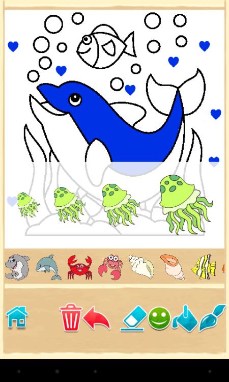 Рыба и дельфины