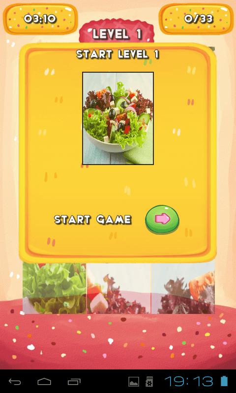 Green salad Jigsaw Puzzle