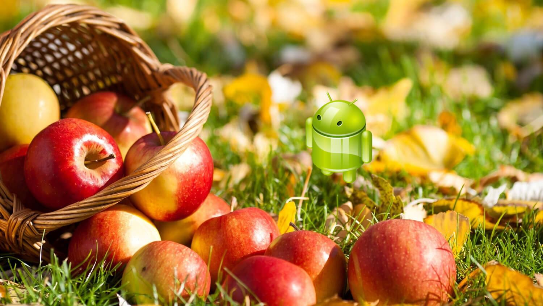 Android и яблоки