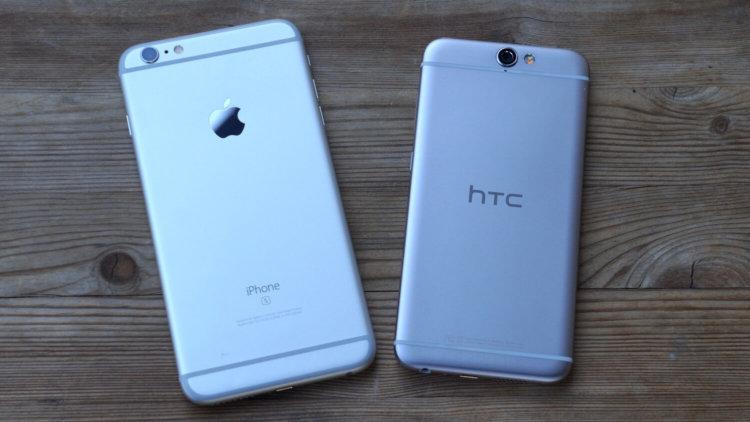 HTC One A9 vs iPhone