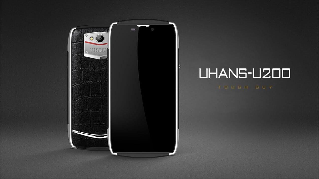 Акция: UHANS U200 — смартфон с премиальным имиджем и доступной ценой
