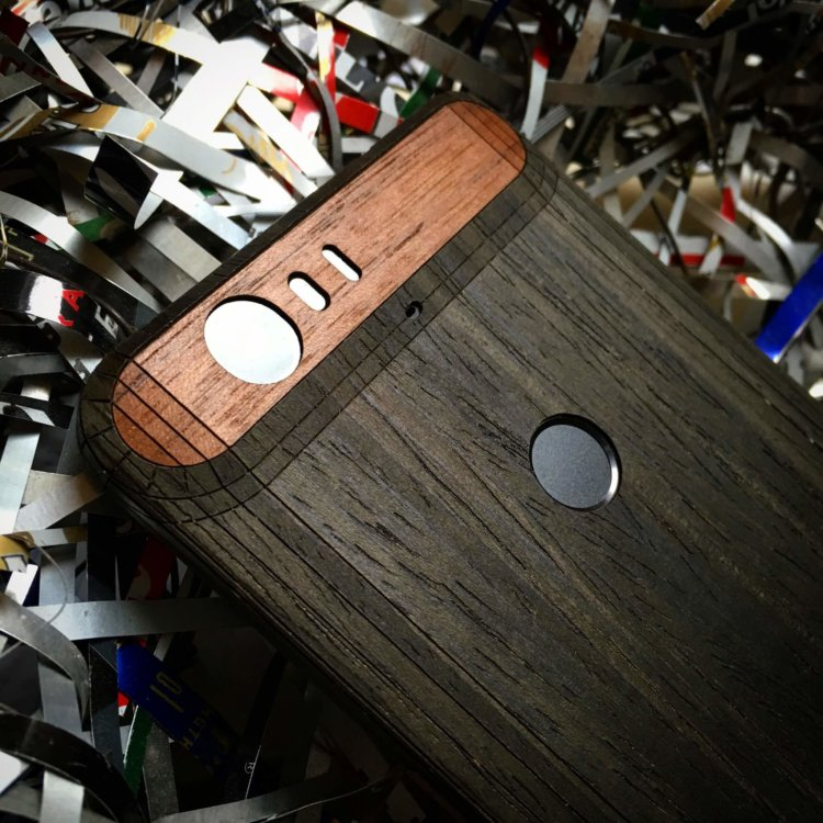 Nexus 6P wood cover