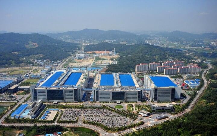 Samsung Display City Tangjeong, South Chungcheong Province. (2)