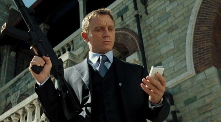 james bond phone