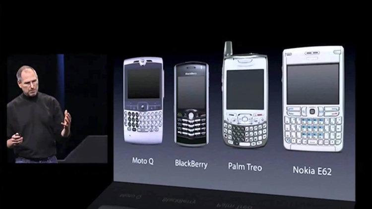 smartphones 2007