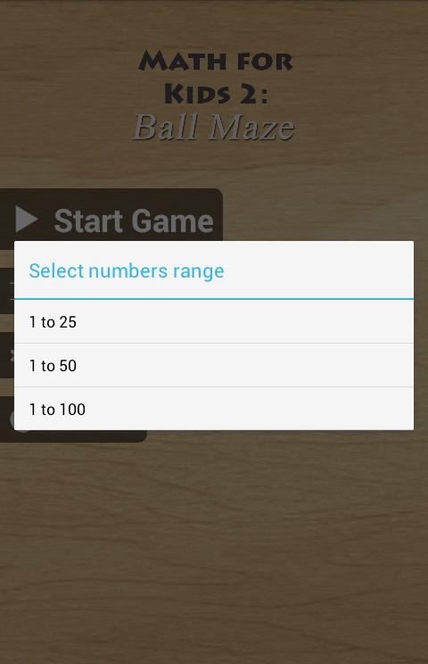 Math For Kids 2: Ball Maze