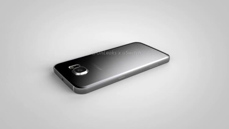 Рендер якобы Galaxy S7 Plus