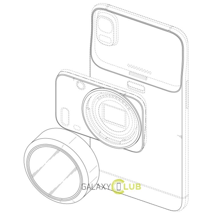 Модульная камера Samsung (патент)
