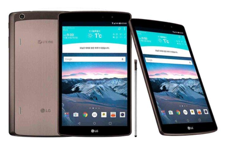 LG представила новый G Pad II 8.3 LTE со стилусом