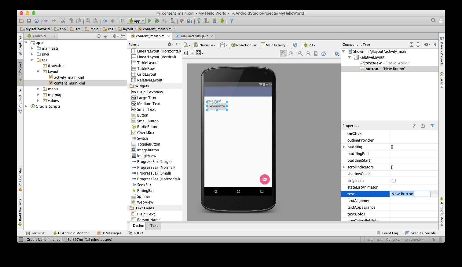 Разрабатываем приложения для Android: Hello World!