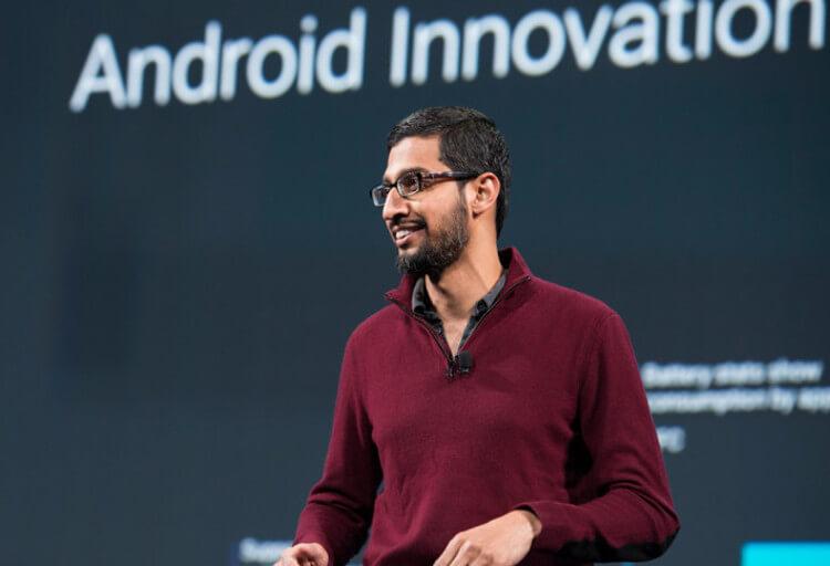 Глава Google Сундар Пичаи