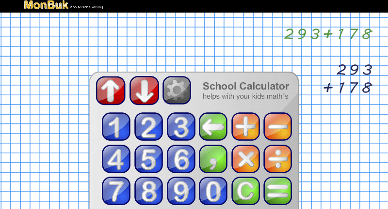 School Calculator for Kids