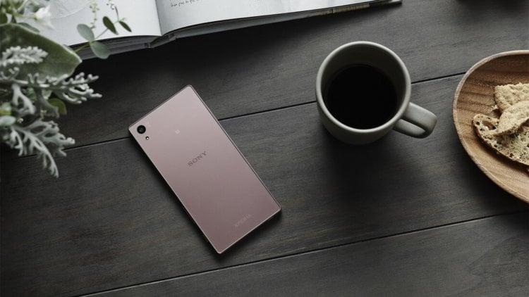 Pink Xperia Z5