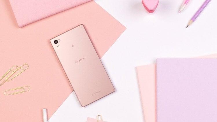 Xperia Z5 Pink