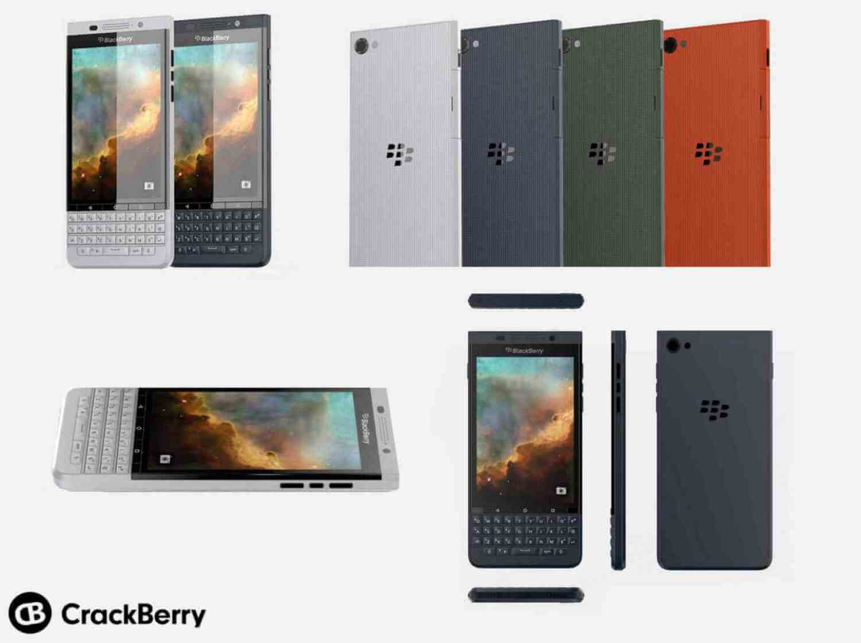 Якобы Blackberry Vienna под управлением Android