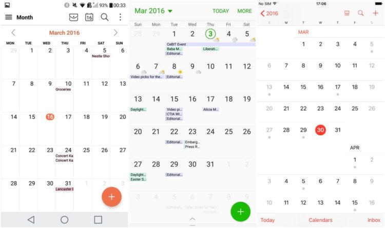 Calendar-apps