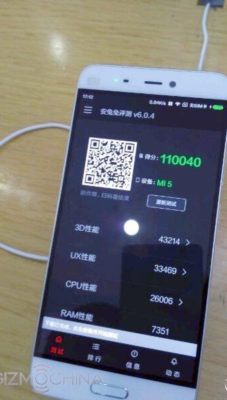 Xiaomi Mi 5 Benchmark