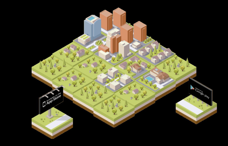 City 2048 — строим город, играя в 2048