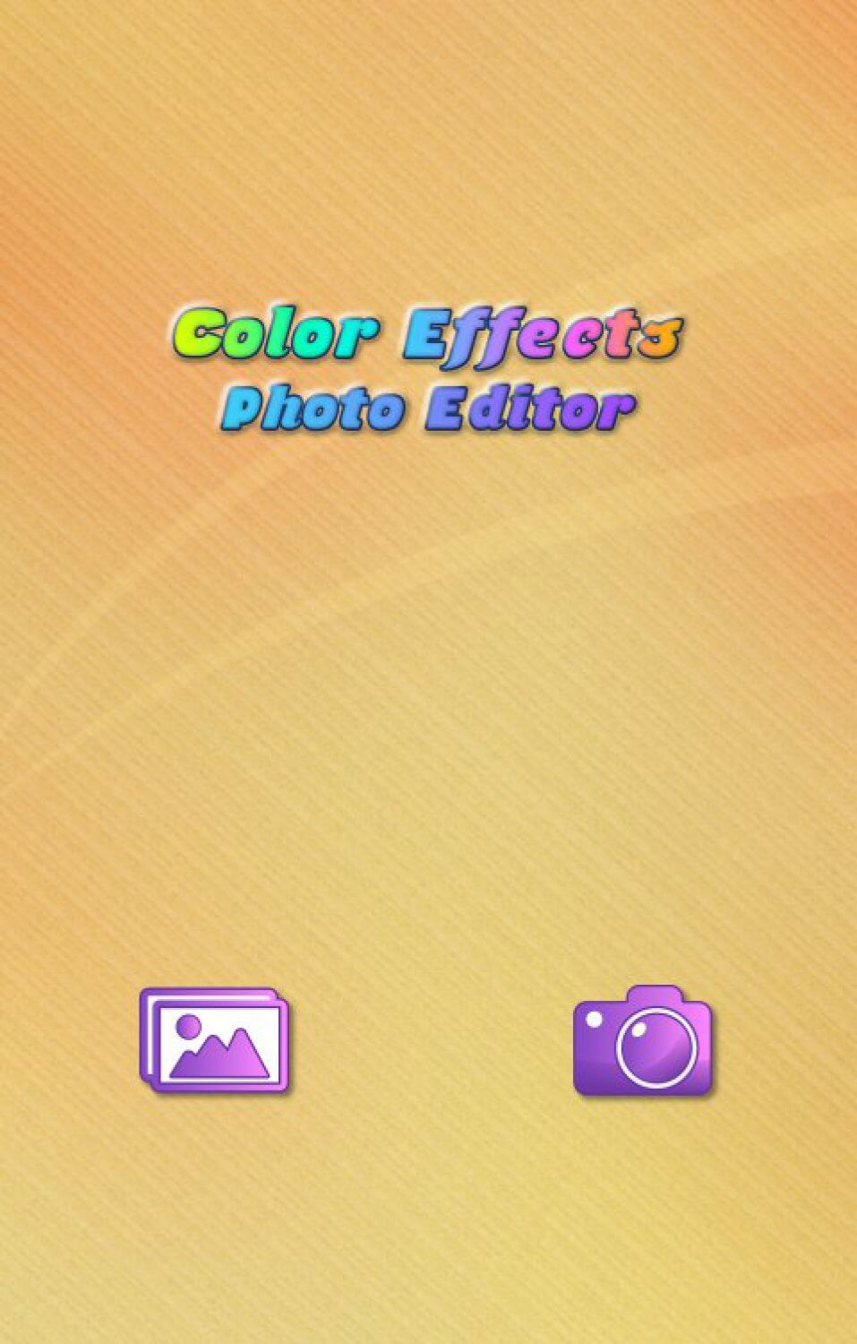 Color Effects Photo Editor