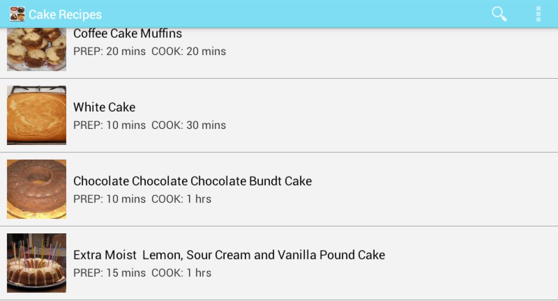 271 Cake Recipes