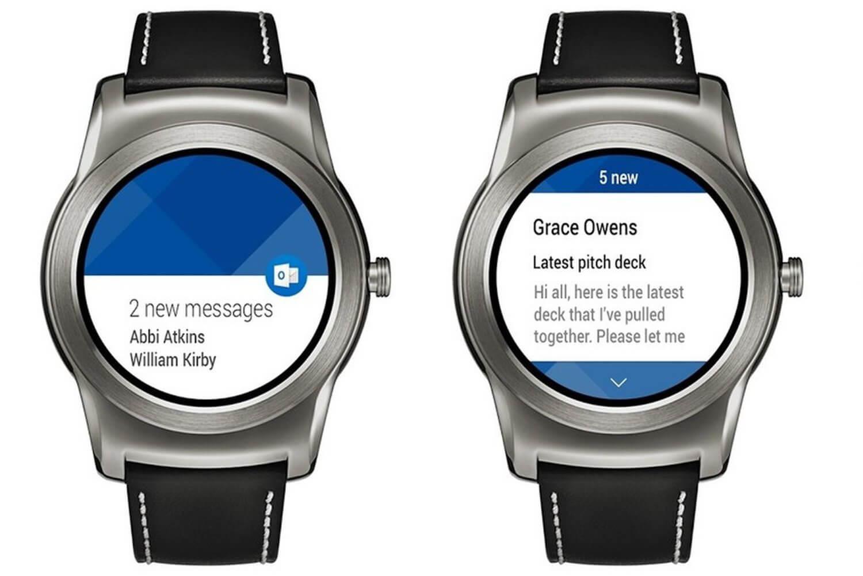 Microsoft Outlook теперь поддерживает часы Android Wear