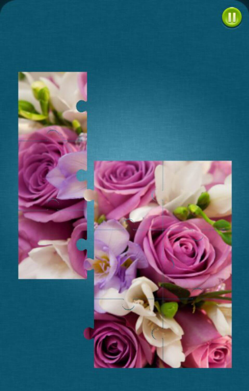 Цветы Пазлы