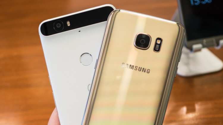 Galaxy S7 vs Nexus 6P