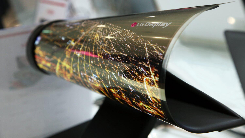 Гибкий OLED-экран компании LG