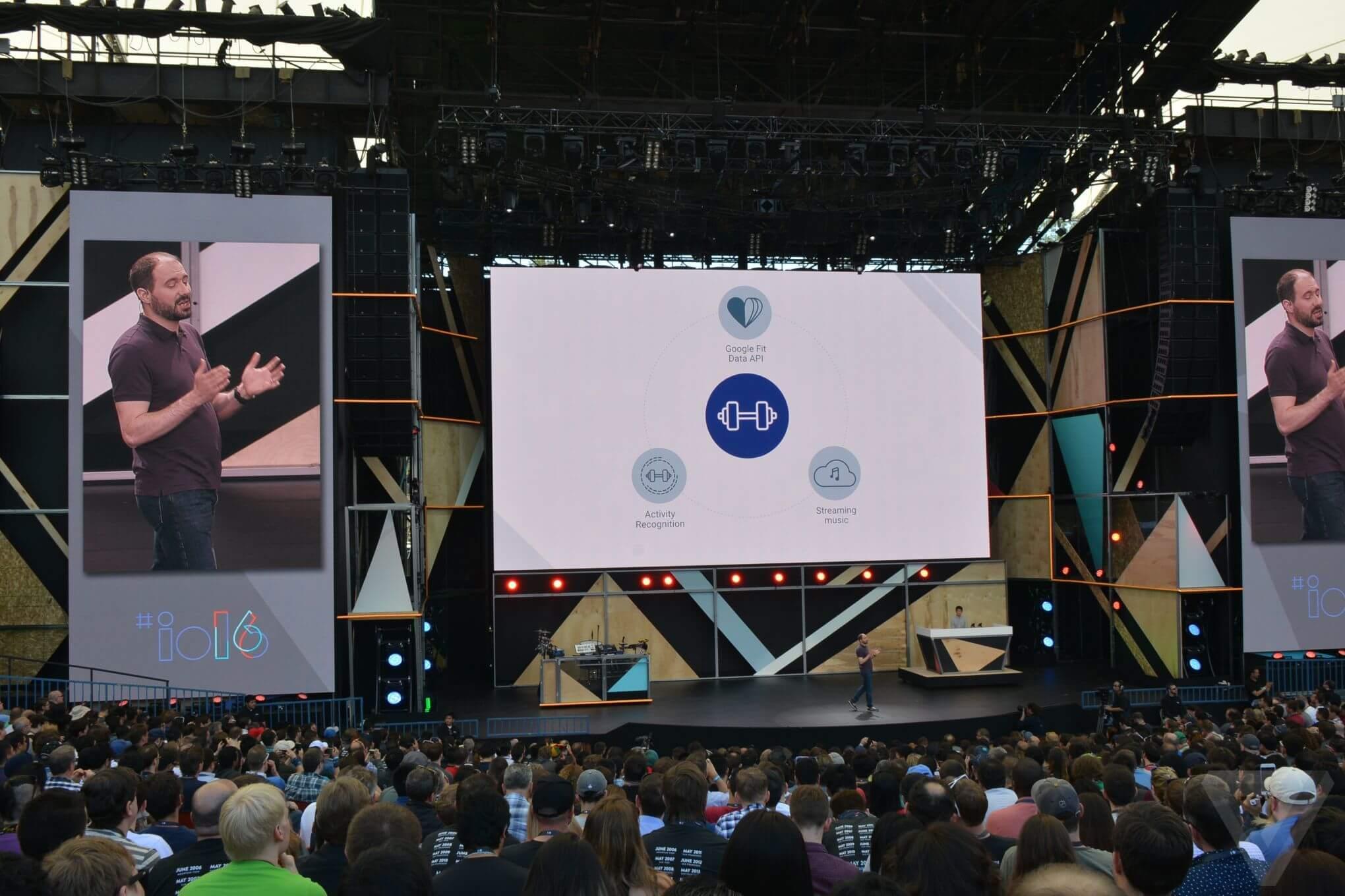 Открытие Google I/O 2016