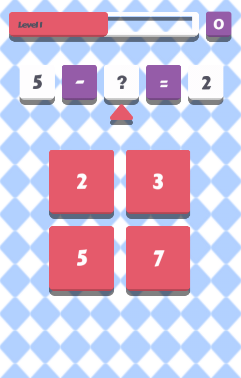 Math Game - Brain Workout